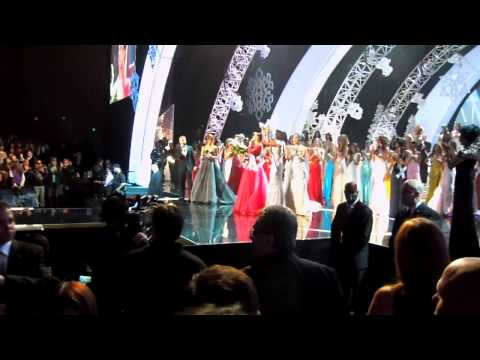 Miss Universe 2012 Crowning