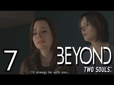 JODIE'S REAL MOM?? | Beyond Two Souls | Lets Play - Part 7