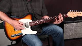 "Blues Rock Guitar Lesson: How to Play ""Just Got Paid"" by ZZ Top on Guitar - Slide Guitar"