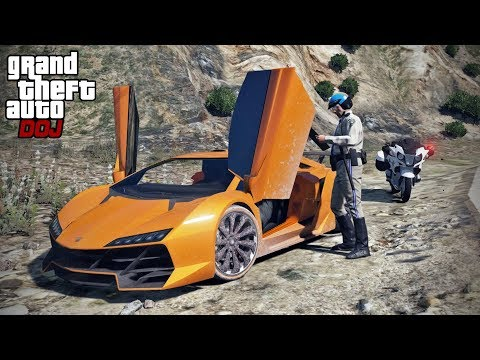 GTA 5 Roleplay - DOJ 288 - Super Car Rental (Civilian)