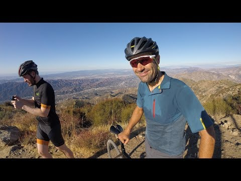 Mt Lukens Loop On Gravel Bikes With Neil Shirley and Lauf
