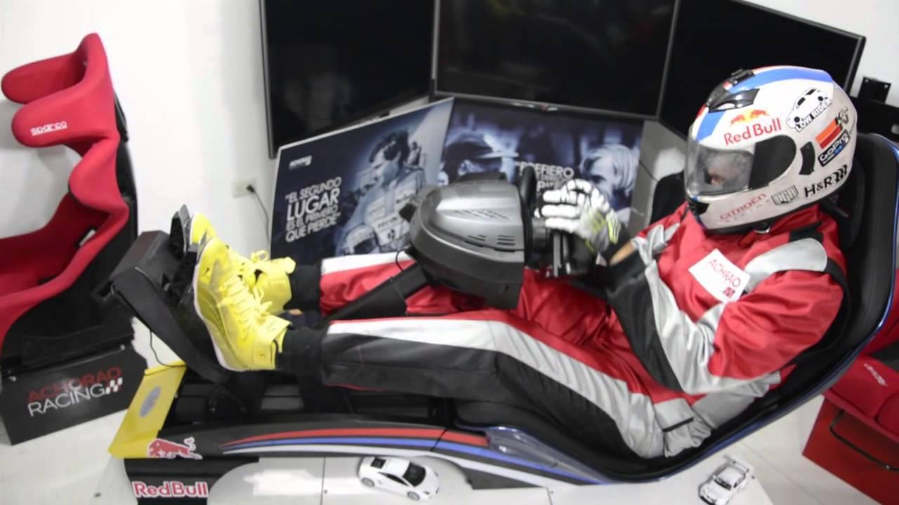 Simulador Playseat F1 Achorao Racing - YouTube