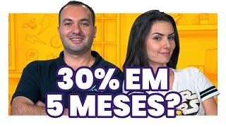 Baixar 30% de VALORIZAÇÃO EM 5 MESES! Como investir igual ao dono da melhor carteira de ações do Brasil