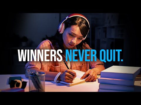 WINNERS NEVER QUIT - Best Self Discipline Motivation Compilation for Success & Studying