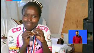Hope on Wheels: Monica Wambui, deaf cyclist needs help to get right gears and equipments
