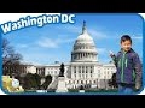 TigerBox in Washington DC with Thomas and Friends visiting United States Capitol Vlog #3
