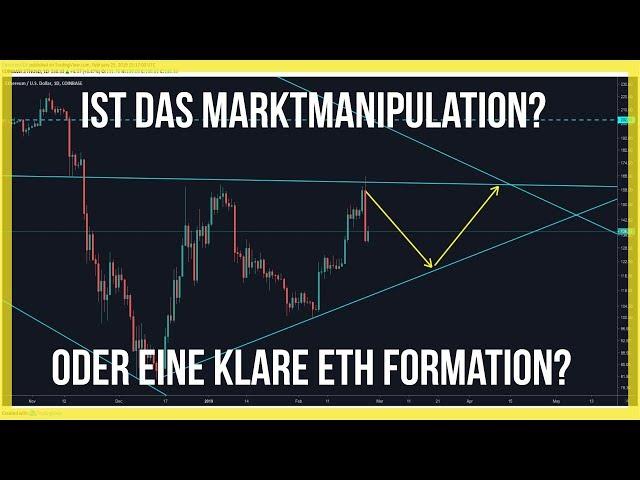 -400$ Bitcoin, Manipulation oder Formation? 🕵️♂️Ethereum bereitet sich vor
