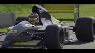 The Minardi 191B F1 with Lamborghini engine returns to racing after 26 years