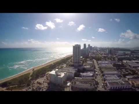 MIAMI BEACH AERIAL #2 with TBS Discovery Pro- GoPro 4