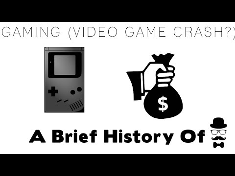 A Brief History Of Gaming (Video Game Crash of 83?)
