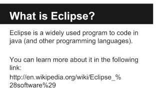 JAVA Programming Tutorials - How to  Download and Install Eclipse - 02