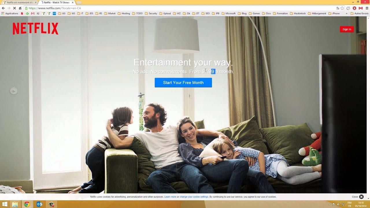 netflix payez votre abonnement moins cher en payant en youtube. Black Bedroom Furniture Sets. Home Design Ideas
