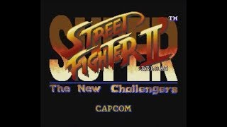 Super Street Fighter II' RELOAD (SNES) - Longplay