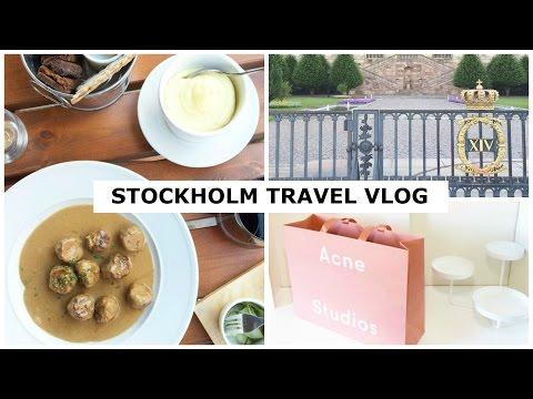 Stockholm Sweden Solo Travel Vlog ✈ 2016 | Acne Studios, Byredo, Putte i Parken