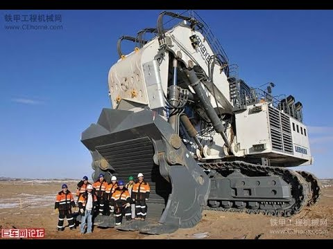 The Biggest Excavator Bucyrus RH400 ( Terex )