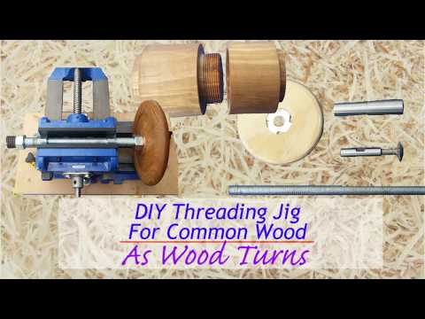 DIY Threading Jig For Common Wood