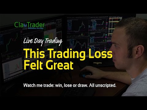 Live Day Trading - This Trading Loss Felt Great