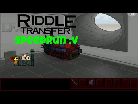 Riddle Transfer Speedrun In 7:19.31