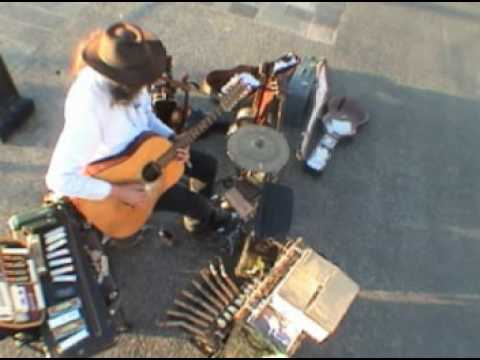 Dave Harris - One Man Band - The Busker's Blues