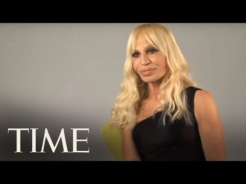 TIME Interviews Donatella Versace