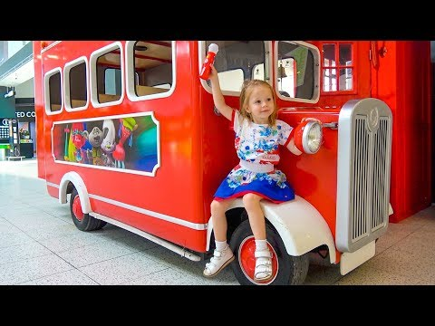 Thumbnail: The Wheels on the Bus School Songs Nursery Rhymes for Kids Funny Baby Pretend play