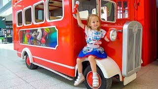 The Wheels on the Bus School Songs Nursery Rhymes for Kids Funny Baby Pretend play