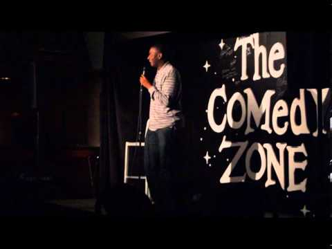 B Tidy at the Comedy Zone, Cleveland, OH 11-16-13