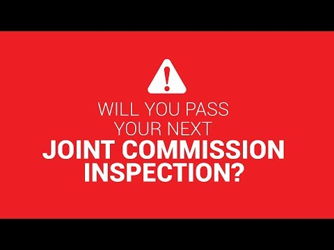 Will you pass your next Joint Commission inspection?