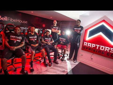 Raptors Uprising esports team home is gamer's 'dream'