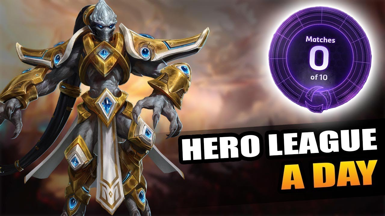 Daily livestreams continue! // Hero League a Day - YouTube