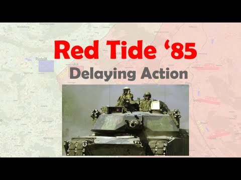 Steel Beasts - Red Tide 1985 Tank Platoon Delaying Action Against Soviet Battalion