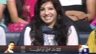 Khabar Naak 15 october 2011 Latest Episode from Geo News - Full Pakistani Comedy Talk Show  Funny
