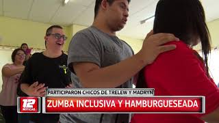 Zumba inclusiva y hamburgueseada.