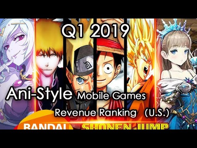 Top 20 Anime Mobile Gacha Games of Q1 2019 in Japan and US | GamePress