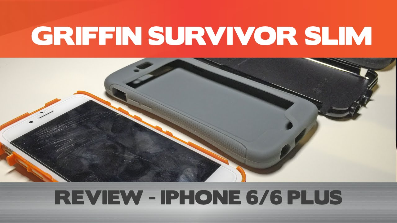 reviews on iphone 6 slim and tough griffin survivor slim review 16026