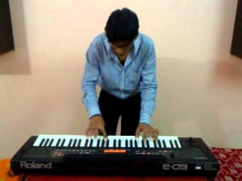 aaja o meri tamanna synthesizer cover by ASIF