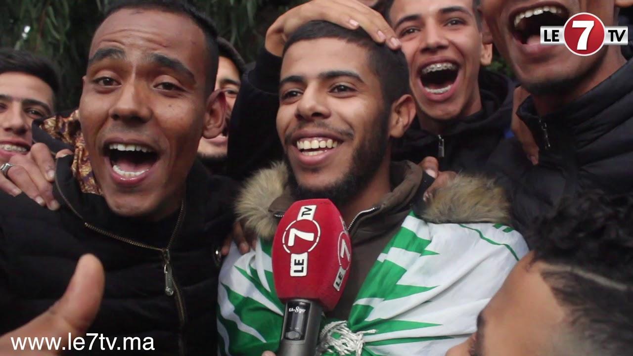 جزائري محب للرجاء تحمل متاعب السفر من الجزائر لاقتناء تذكرة نهائي الكاف