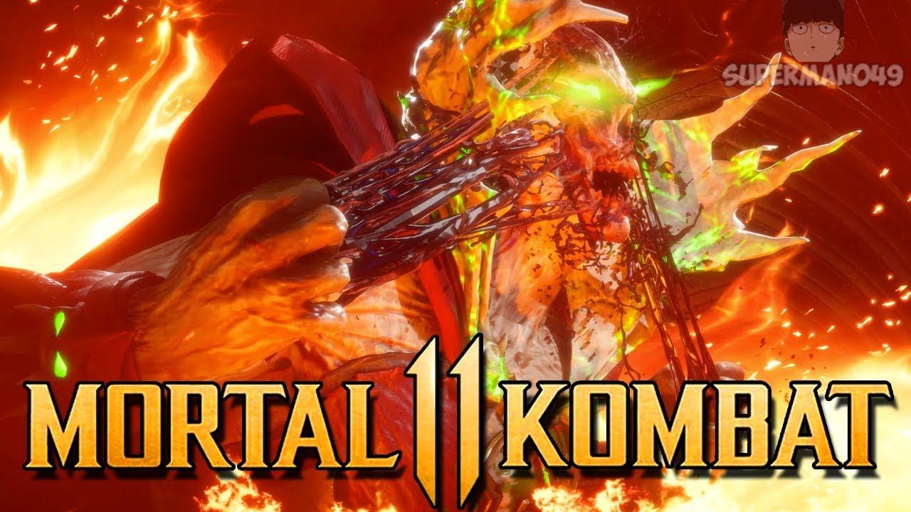 """Trash Talker Gets Destroyed By Spawn - Mortal Kombat 11: """"Spawn"""" Gameplay"""