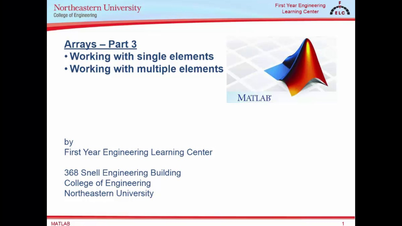 Video Resources | Northeastern University College of Engineering
