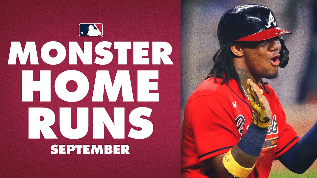 The MONSTER MLB Home Runs from September!  (ft. Ronald Acuña Jr., Luis Robert and more!)