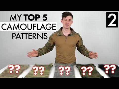 My Favourite Camouflage Patterns - Uniforms