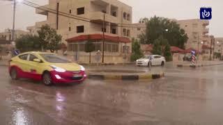 حالة جوية مفاجئة وأجواء شتائية عاشها الأردنيون خلال اليومين الماضيين - (27-4-2018)
