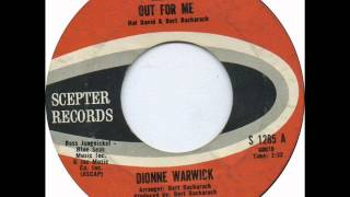 "Dionne Warwick ""Reach Out For Me"""