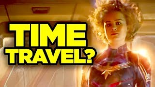 Captain Marvel TIME TRAVEL Confirmed? #NewRockstarsNews