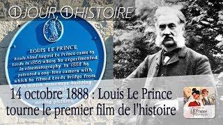 14 octobre 1888 : tournage du premier film de l'histoire par Louis Le Prince