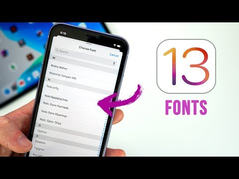 iOS 13 - Install Custom Fonts! (Feature Explained)