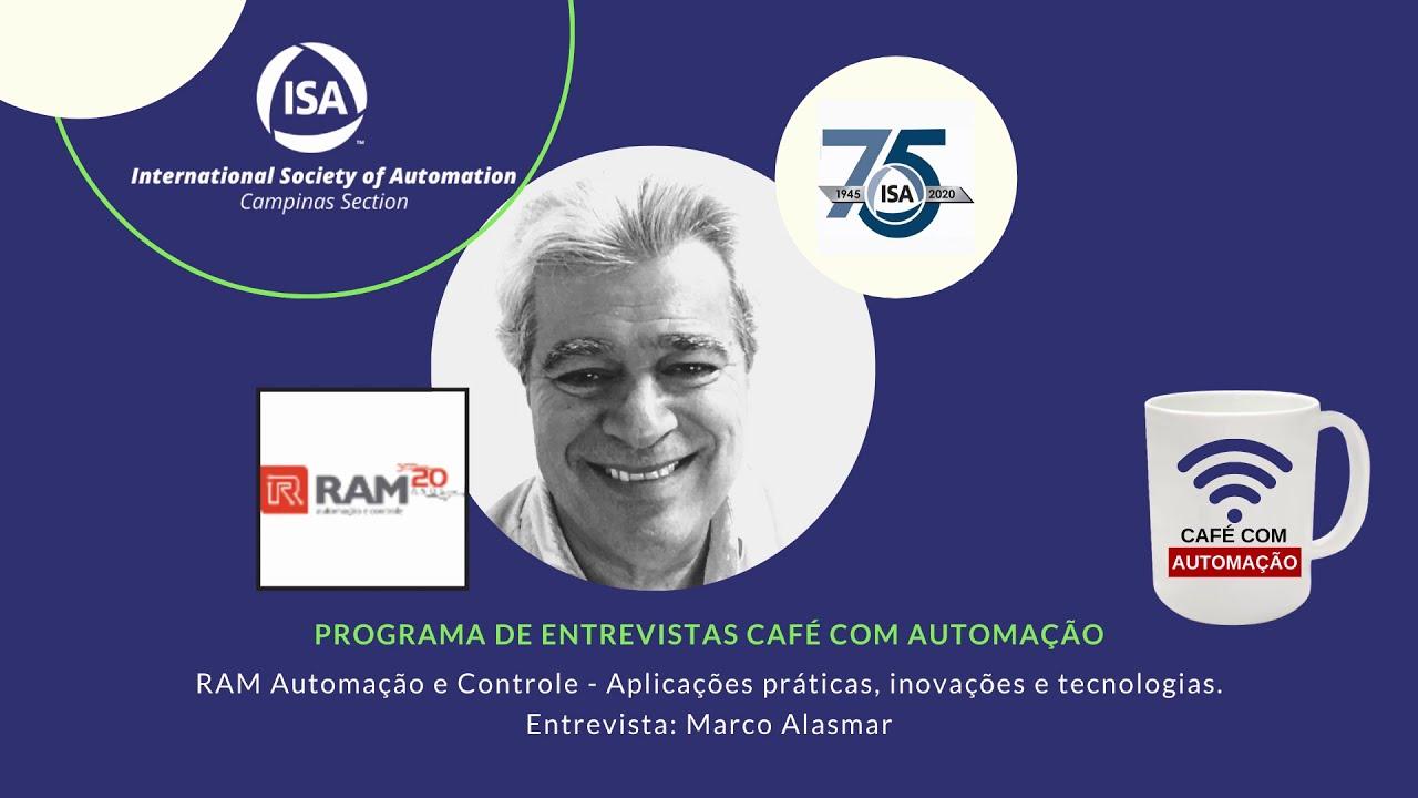 Café Com Automação - Marco Alasmar - Ram Automação e Controle