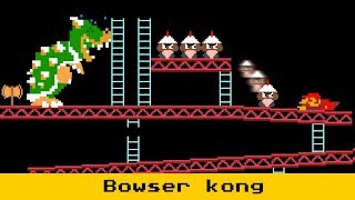 If Bowser Take place in Donkey kong Role