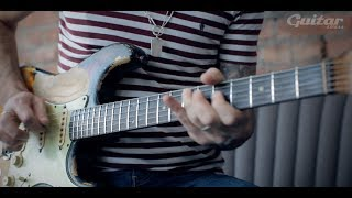 Killer Strat tone tips and monster playing from Dan Patlansky