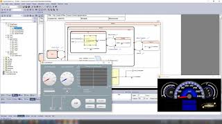 Ansys SCADE Student - Car Cruise Control (English)